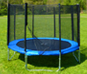 External safety net trampolines