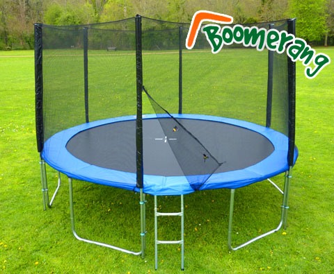 12ft Boomerang Plus trampoline
