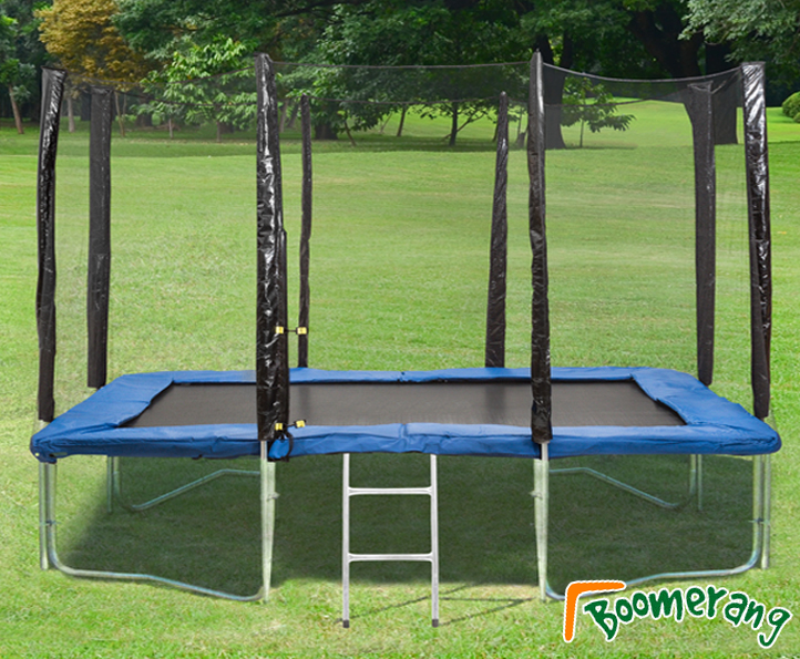 8x12ft Boomerang Plus trampoline