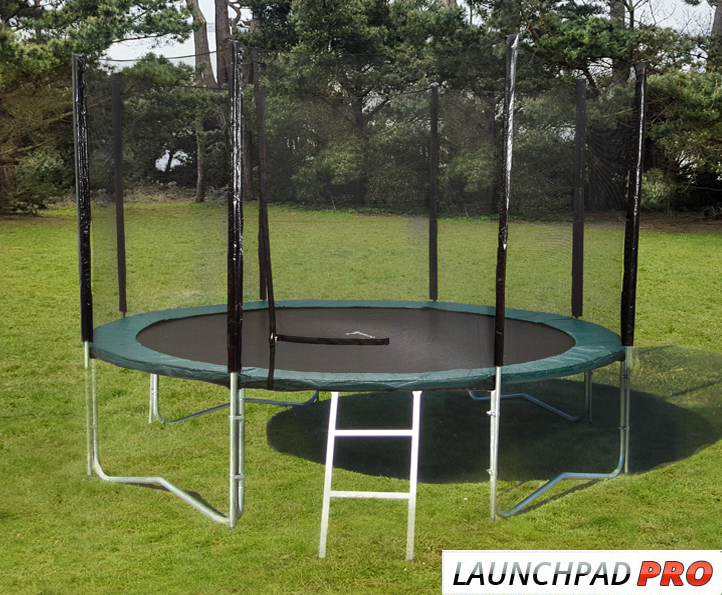 14ft LaunchPad trampoline