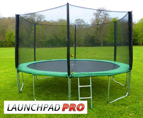 16ft Round Trampoline Set And Enclosure Net Brand New Ebay