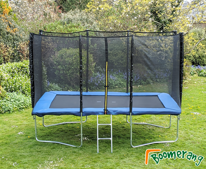 7x10ft Boomerang Plus trampoline