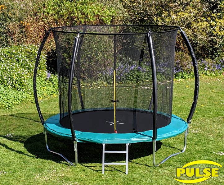 10ft Pulse Green trampoline