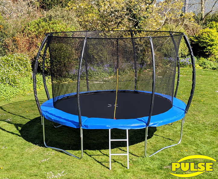 12ft Pulse Blue trampoline