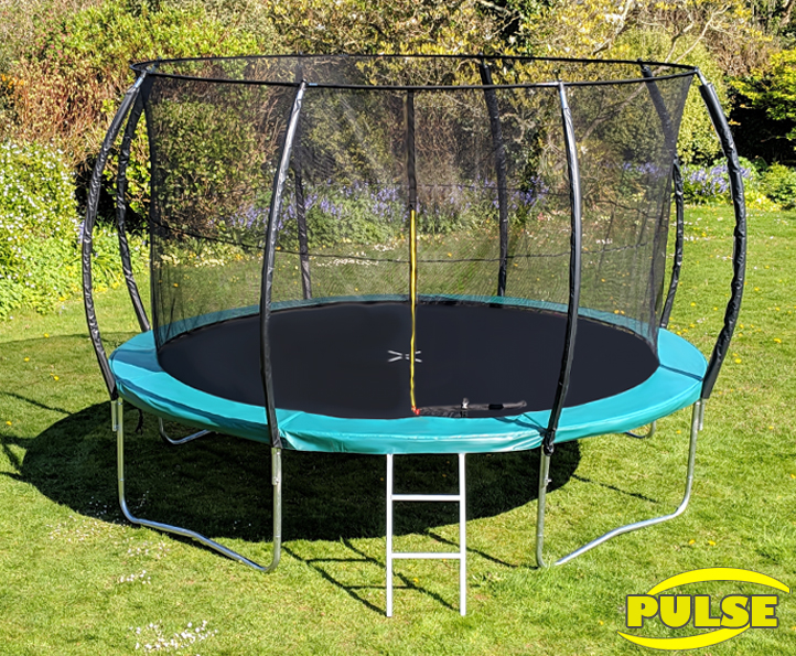 14ft Pulse Green trampoline