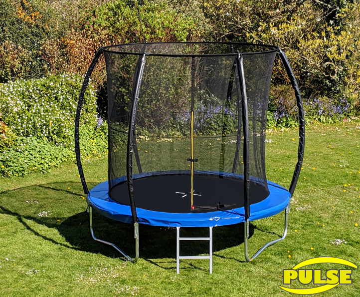 8ft Pulse Blue trampoline