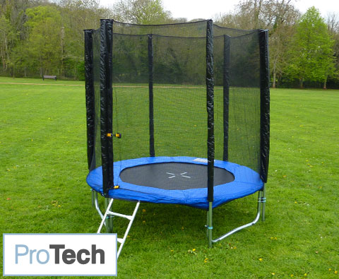 Trampolines 8ft Protech Power trampoline