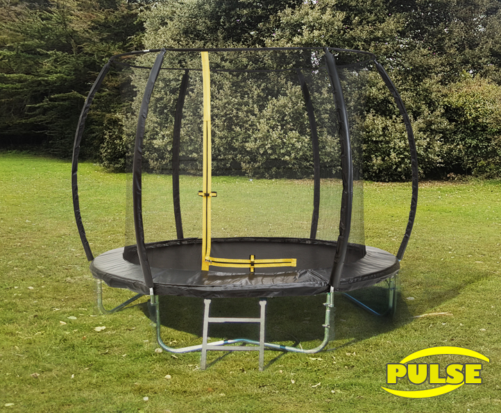 Image of 10ft Pulse Black trampoline