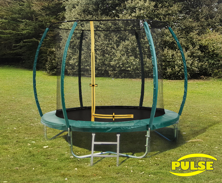 Image of 10ft Pulse Green trampoline