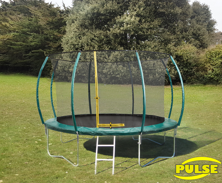 12ft Pulse Green trampoline