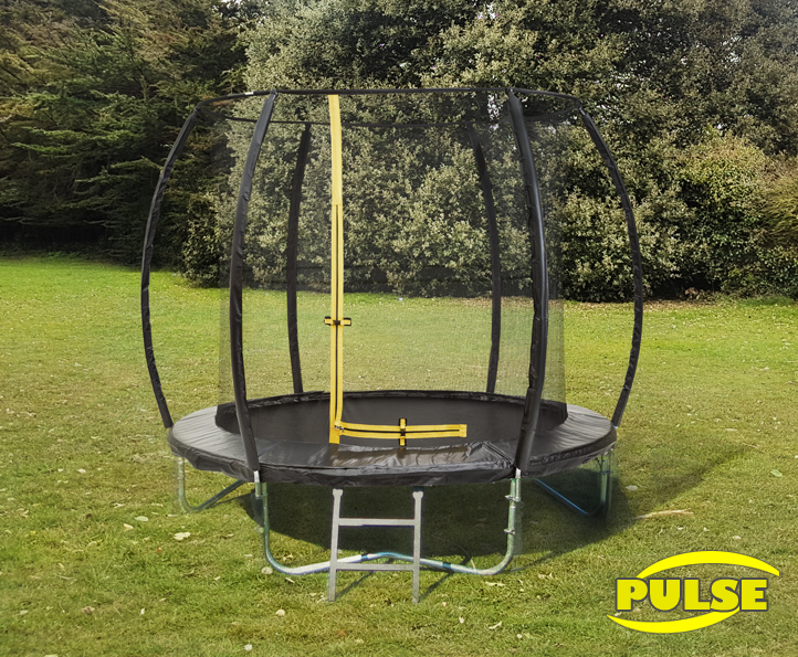 8ft Pulse Black trampoline