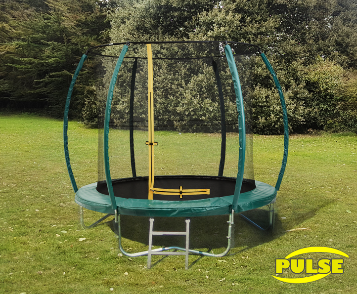 8ft Pulse Green trampoline