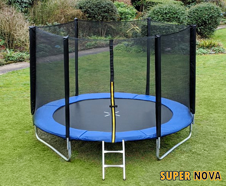 10ft Supernova Blue trampoline