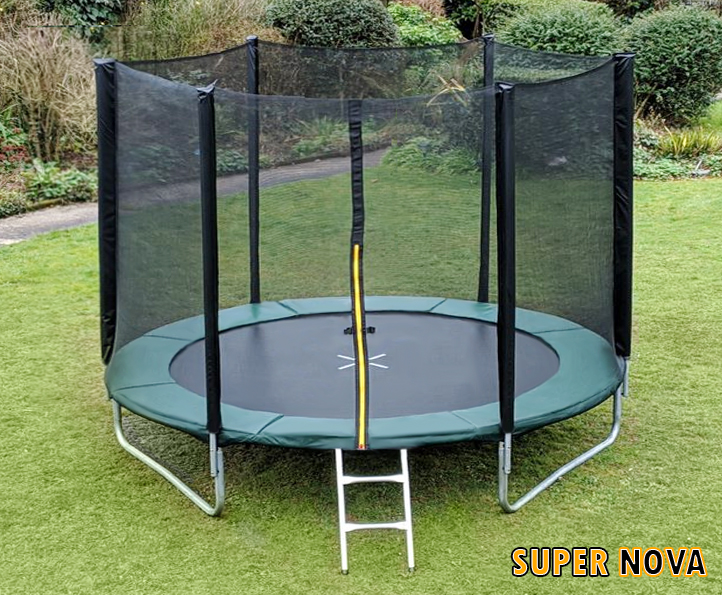 10ft Supernova Green trampoline
