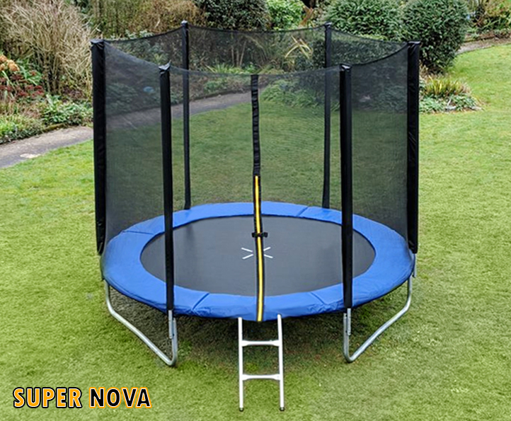 8ft Supernova Blue trampoline